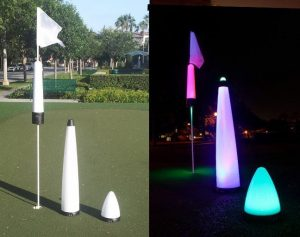 40″ UV GLOW BALL CHARGER – Tee Box Light 5