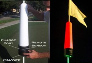 Flag pin – Golf Target Light – Rechargeable 2