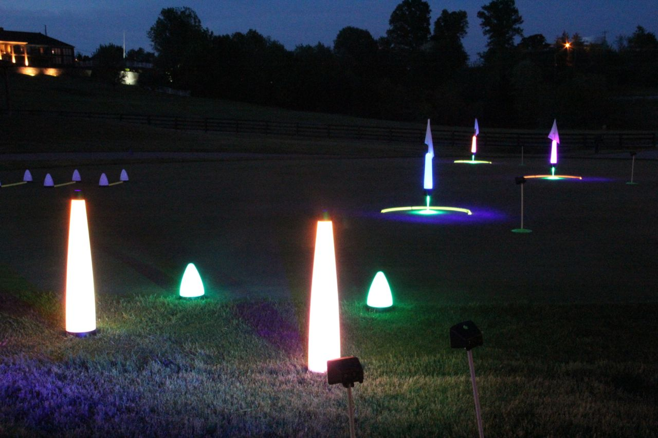 10″ TEAR DROP MARKER LIGHTS – Rechargeable 10