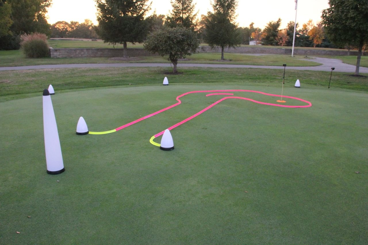 OFFICE GOLF – 1 hole putting track kit 6