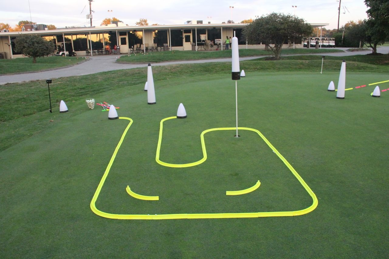 OFFICE GOLF – 1 hole putting track kit 5