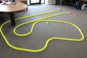 OFFICE GOLF – 1 hole putting track kit 12