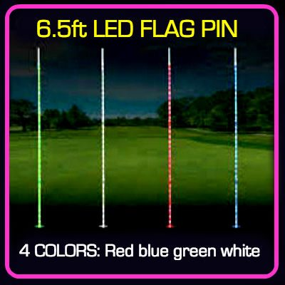 Premier FLAG PIN LIGHT - 6.5' / 1 COLOR LED