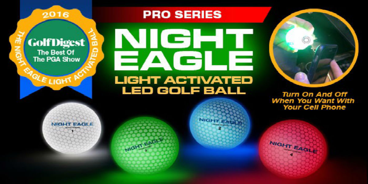 NIght Eagle CV LED Golf Ball – Blue- pack of 6 2