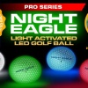 NIght Eagle CV LED Golf Ball - Green - pack of 6
