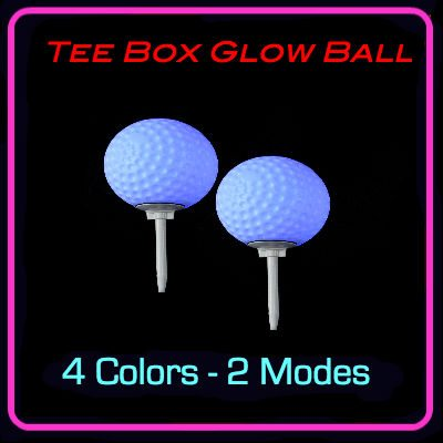 TEE BOX GOLF BALL SPIKE LIGHT