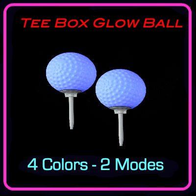 TEE BOX GOLF BALL SPIKE LIGHT 1